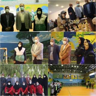 بازدید رئیس فدراسیون پزشکی ورزشی از اردوی تیم های ملی گلبال و شطرنج  نابینایان و کم بینایان