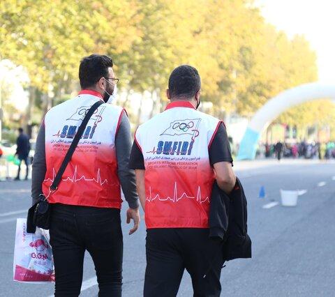 بازتاب خبری جشنواره فرهنگی ورزشی سلامت در ورزشگاه آزادی